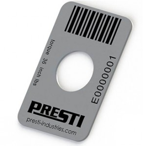 Presti Barcode Tag